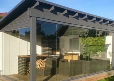 Raamideta terrassiklaasid